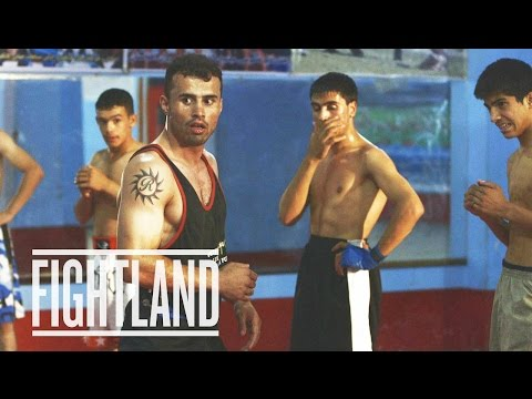 Teaching Kids MMA in Afghanistan: Fightland Worldwide