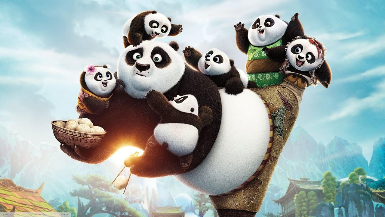 Action Animation Movie 2021 - KUNG FU PANDA (2020) Full Movie in English -Best Animation Kids Movies