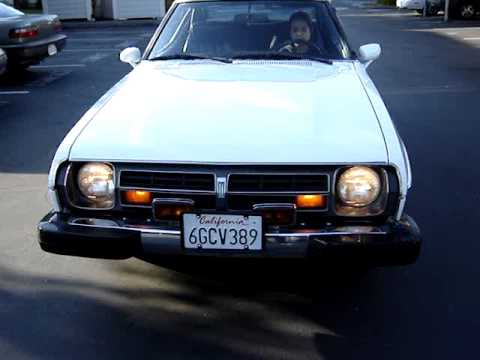 1979 Datsun S10 Silvia Cold Start and drive demonstrati ...