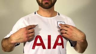 Edmondsoccershop.com 2017-2018 Tottenham Hotspur Nike Home Jersey Unboxing Review