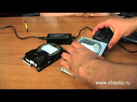 Адаптер для подключения IDE/SATA устройств к ПК - Видео