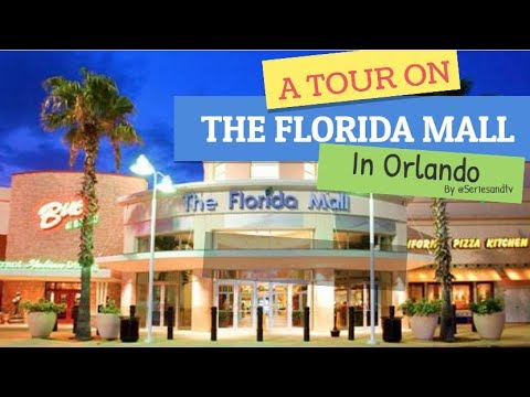 A Tour on The Florida Mall in Orlando - #TravelTips