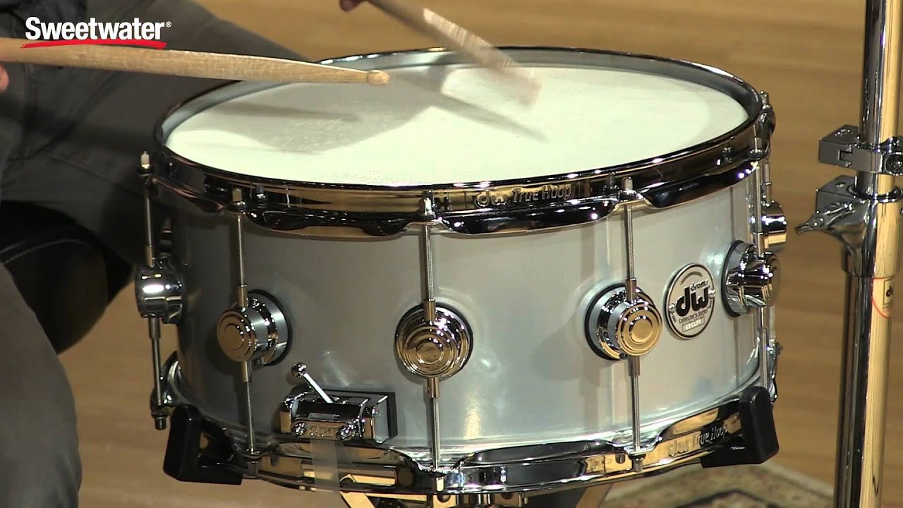 dw collector 39 s series metal snare drum review by sweetwater youtube. Black Bedroom Furniture Sets. Home Design Ideas