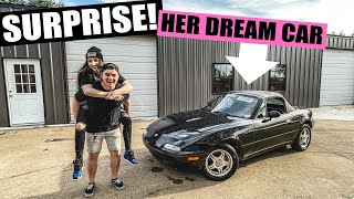 homepage tile video photo for SURPRISING MY LITTLE SISTER WITH HER DREAM CAR! (Reaction Video)