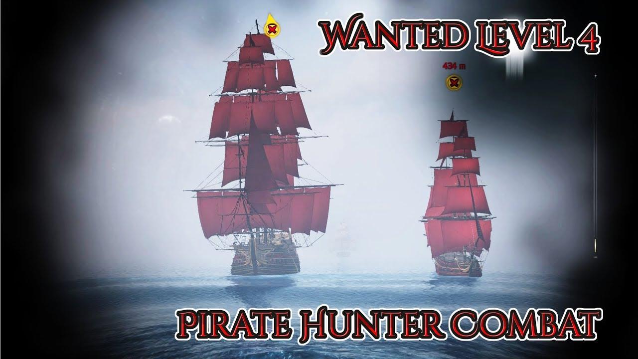 Assassin's Creed IV: Black Flag Gameplay - Level 4 Pirate Hunter Combat