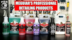 MEGUIAR'S PROFESSIONAL DETAILING PRODUCTS (Brand Review!!!)