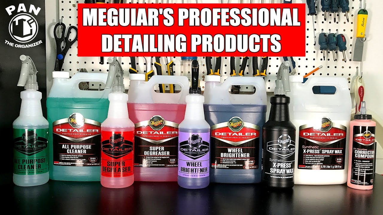 Professional Car Detailing Supplies >> Meguiar S Professional Detailing Products Brand Review
