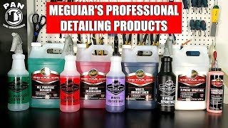 Video MEGUIAR'S PROFESSIONAL DETAILING PRODUCTS (Brand Review!!!) download MP3, 3GP, MP4, WEBM, AVI, FLV Juli 2018