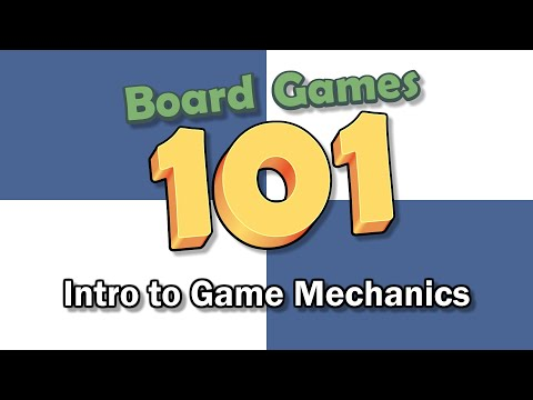 What is a board game mechanic?
