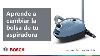 ¿Cómo cambiar la bolsa de la aspiradora y limpiar los filtros?