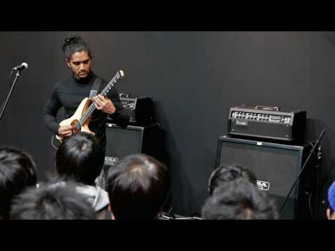 Al Mu'min Varberg Demo at Tokyo Guitar Show/Gakki Fair 2016