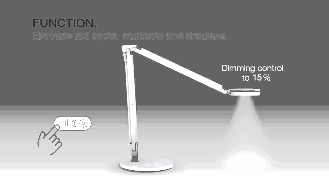 dash LED Task Light - animation (US)