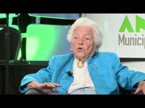 History lessons - a conversation with Hazel McCallion, Mayor, City of Mississauga.