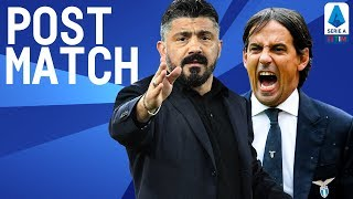 Lazio 1-0 Napoli | Inzaghi & Gattuso Post Match Press Conference | Serie A TIM