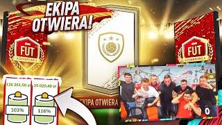 EKIPA OTWIERA MOJE NAGRODY ZA FC NA STREAMIE CHARYTATYWNYM!