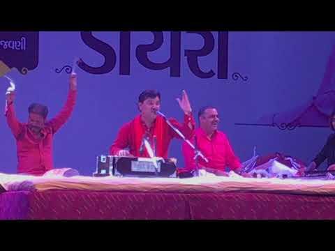 Kirtidan Gadhavi Performing LADKI at Sabarmati River front during Divyabhaskar Dayro