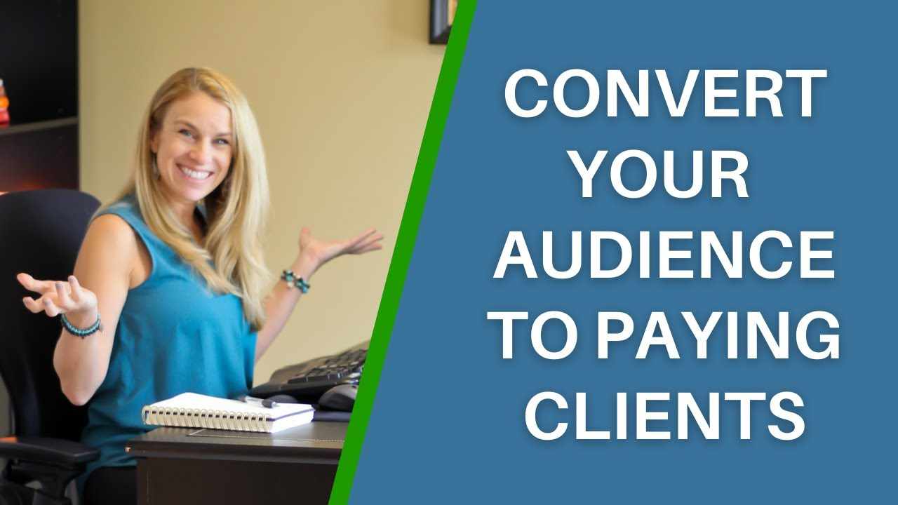 How To Increase Engagement With Your Audience & Convert Them To Paying Clients