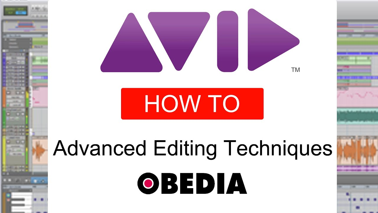 PRO TOOLS - Advanced Editing Techniques - YouTube