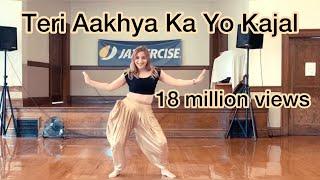 Teri Aakhya Ka Yo Kajal   Sapna Chaudhary   Cardio Dance Fitness  Easy Choreography   Haryanvi Song