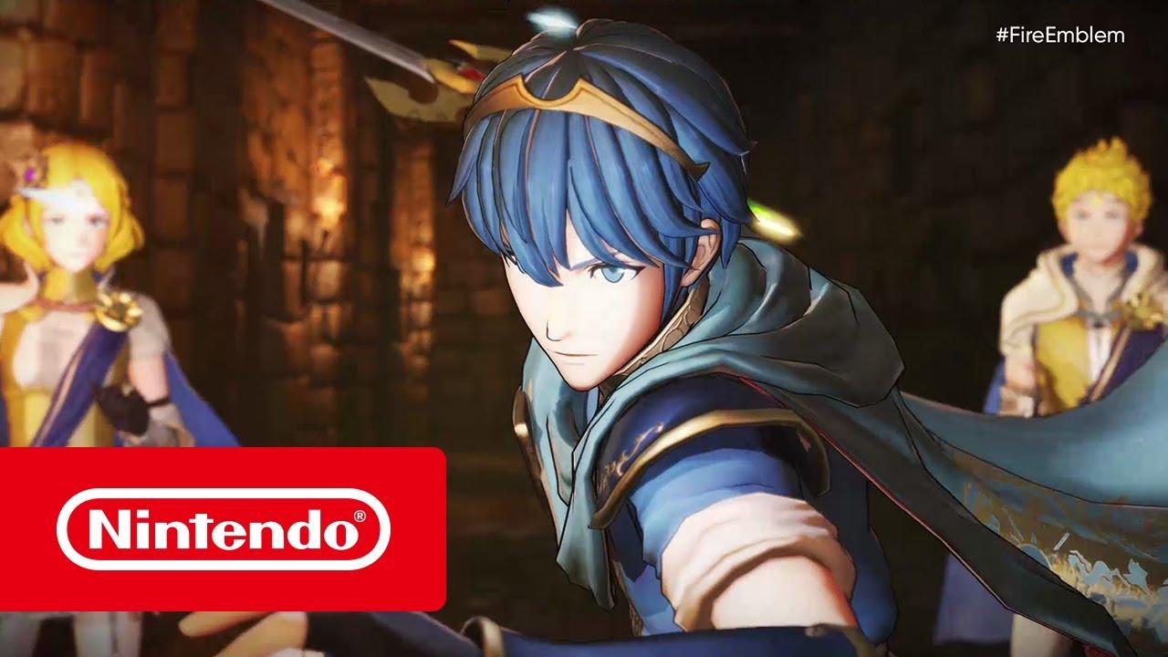 fire emblem warriors e3 2017 trailer nintendo switch youtube