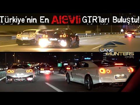 4 GTR 1 Ferrari ile 3. Dünya Savaşı Gibi Bir Gece! | Lane Hunters