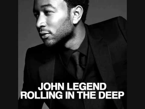 John Legend - Rolling in the deep (Adele cover)IN TUNE