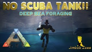 ARK DEEP SEA FORAGING - NO SCUBA TANK!