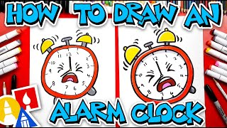 How To Draw An Alarm Clock