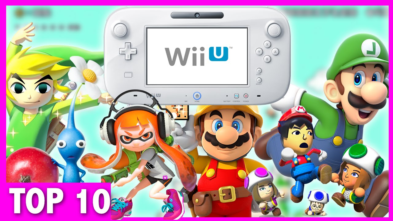 Top 10 Must Own Wii U Games Exclusives Youtube