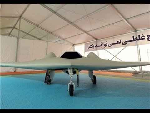 IRAN HAS JUST BUILT A US RQ-170 STEALTH DRONE