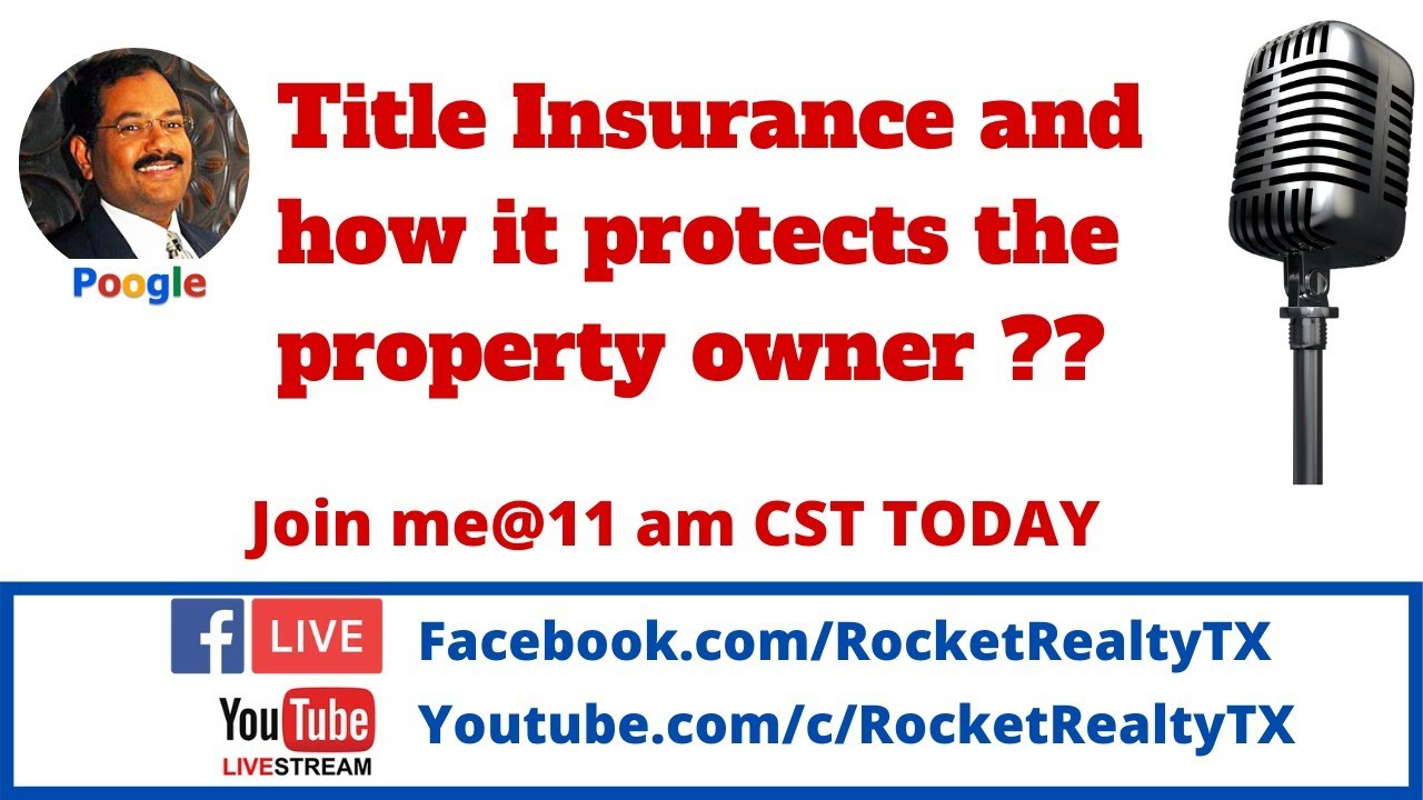 TITLE Insurance & Property Owners - YouTube