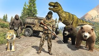 Video GTA 5 Mods - HUNTING RARE & EXOTIC ANIMALS IN GTA 5!! GTA 5 Hunting Mod! (GTA 5 Mods Gameplay) download MP3, 3GP, MP4, WEBM, AVI, FLV Juli 2018