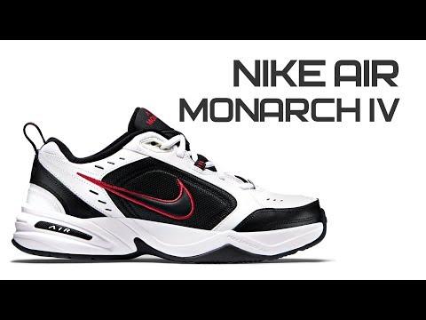Обзор кроссовок Nike Air Monarch IV