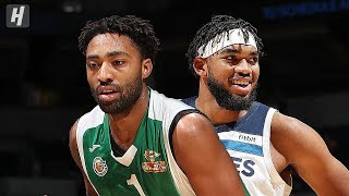 Maccabi Haifa vs Minnesota Timberwolves - Full Highlights | October 13, 2019 | 2019 NBA Preseason