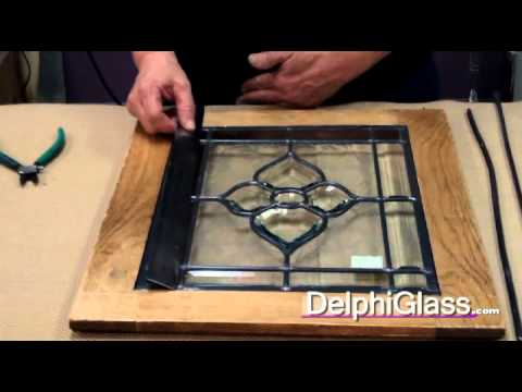How To Measure And Cut Lead Came | Delphi Glass