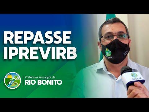 PREFEITO ANUNCIA REPASSE AO IPREVIRB
