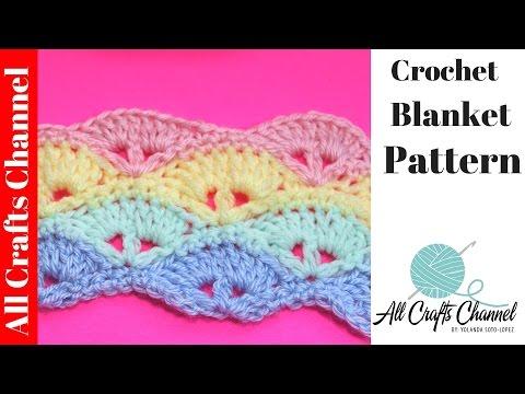 Learn To Crochet Baby Blanket Pattern