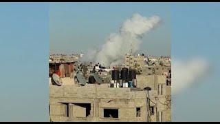 פלסטינים נפצעו ב פיצוץ בתוך דירה  ב שכונת סגאעיה מזרח עזה
