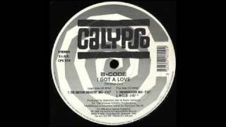B-CODE - I Got A Love (Groove Industry Mix) 1996