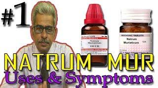 Natrum Mur in Hindi (Part 1) - Uses & Symptoms in Homeopathy by Dr P.S. Tiwari