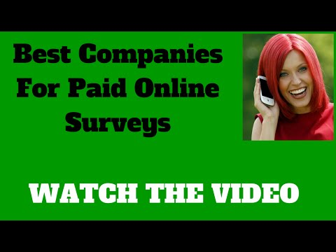 Best Companies For Paid Online Surveys | Make Between $2.00 - $75.00 Per Survey