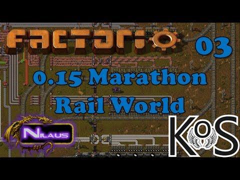Vanilla Marathon Rail World with KatherineOfSky - E03 - Nilaus