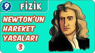 Newtonun Hareket Yasaları-3  9. Sınıf Fizik