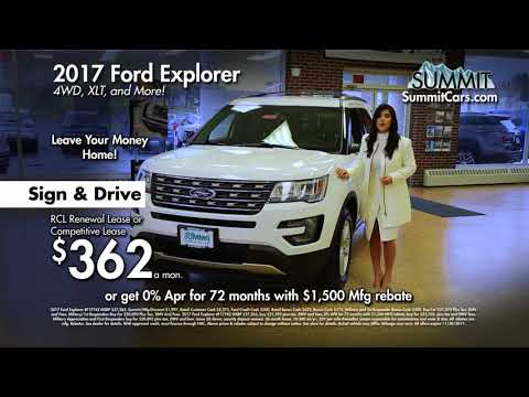 Ford Explorer 2017 Lease >> 2017 Ford Explorer And 2018 Ford F 150 Xl Sport Youtube