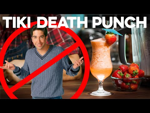 Monica's Tiki Death Punch from FRIENDS | How to Drink