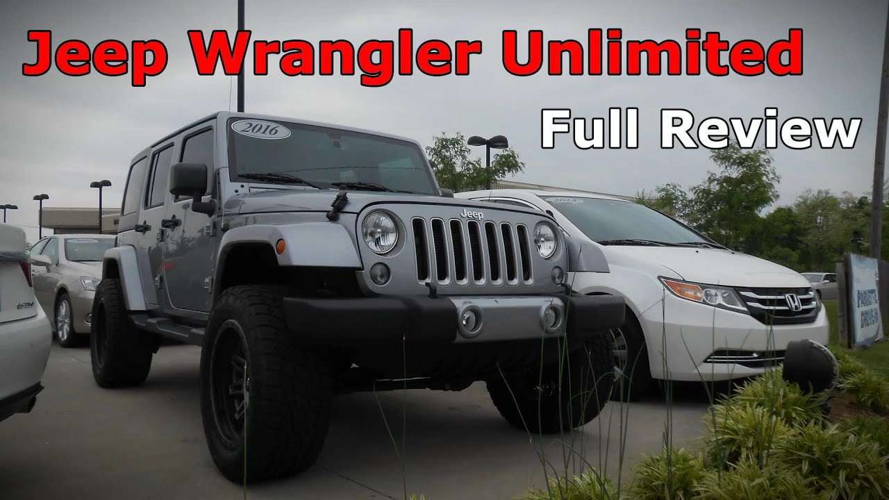 2016 Jeep Wrangler Unlimited Full Review  Sport Sahara