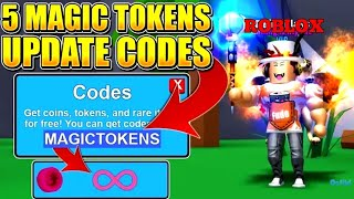 MINING SIMULATOR TOKENS CODES! ROBLOX MINING SIMULATOR 5 NEW CODES!