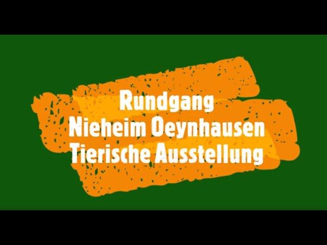 Rundgang Nieheim Oeynhausen Tierische Ausstellung!