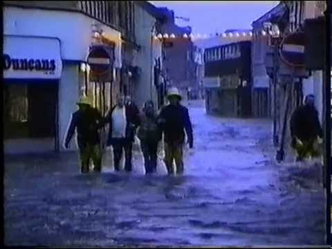 Saltcoats In Flood - 1991 - Full Video