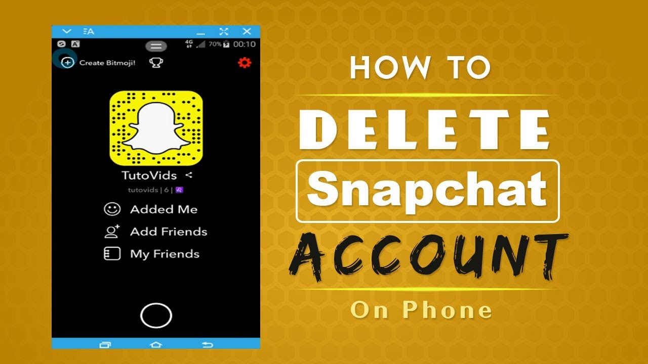 how to make a snapchat account